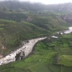 Beautiful view of Colca Valley