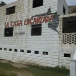 La casa encantada=haunted house